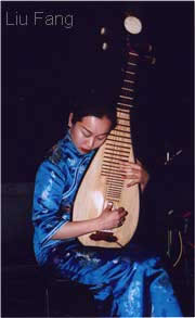 pipa - chinese four-stringed lute