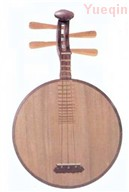 Yueqin - Chinese moon-shaped lute