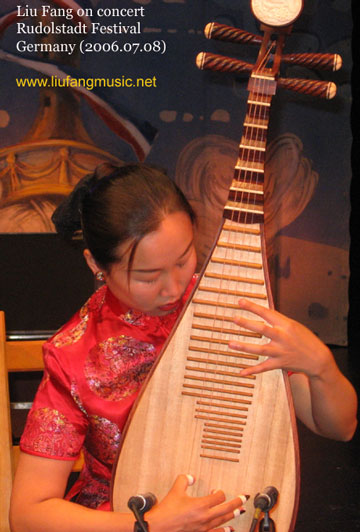 Some remarks on traditional Chinese music for PIPA and guzheng