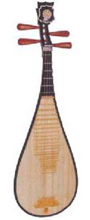 pipa un laud chino instrumento traditionnelle del china