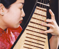 Liu Fang plays pipa (Chinese lute)